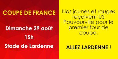 Coupe de France - 29 aout 2021 - Stade de Toulouse Lardenne